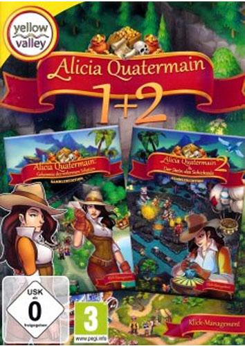 Alicia Quatermain 1+2  PC  Budget Yellow Valley