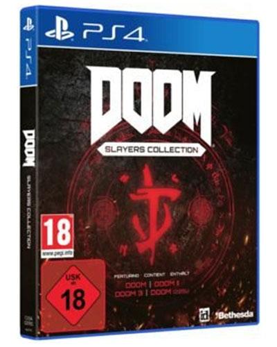 Doom Slayer Collection  PS-4 Doom I + Doom II + Doom  III + Doom 2016