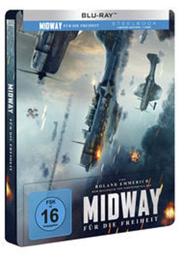 Midway - Für die Freiheit (BR) LE -SB- Min: 144/DD5.1/WS  Limited Steelbook Ed.