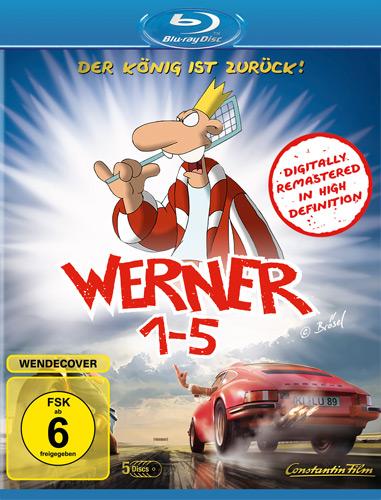 Werner  1 - 5  Königbox  (BR) 5Disc Min: 435/DD5.1/WS  5Disc