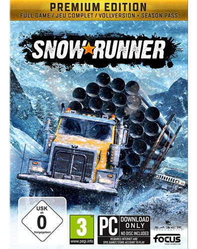 SnowRunner  PC  Premium Edition inkl. Season Pass