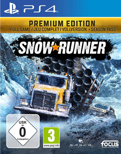 SnowRunner  PS-4  Premium Edition inkl. Season Pass