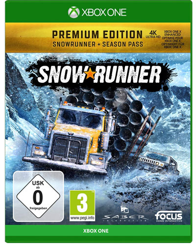 SnowRunner  XB-ONE  Premium Edition inkl. Season Pass