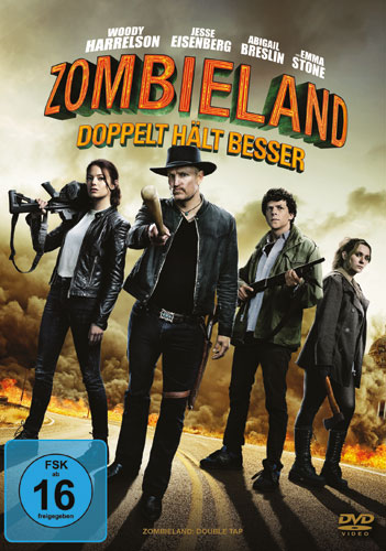 Zombieland 2: Doppelt hält besser (DVD) Min: 95/DD5.1/WS