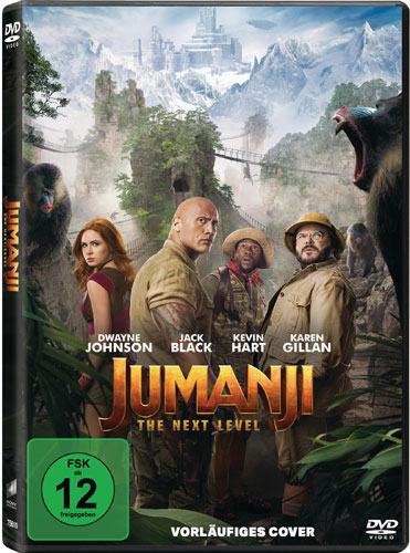 Jumanji: The Next Level (DVD) Min: 124/DD5.1/WS
