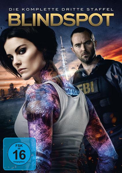 Blindspot - Kompl. Staffel #3 (DVD) Min: /DD5.1/WS  5Disc