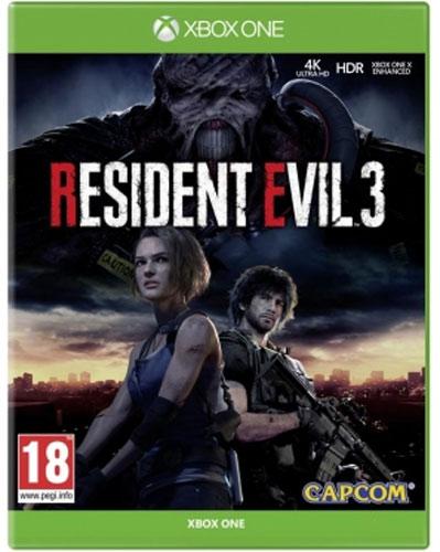 Resident Evil  3  XB-One  UK  multi