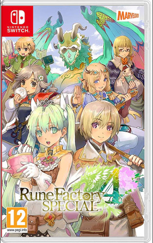 Rune Factory 4  Switch  UK Special