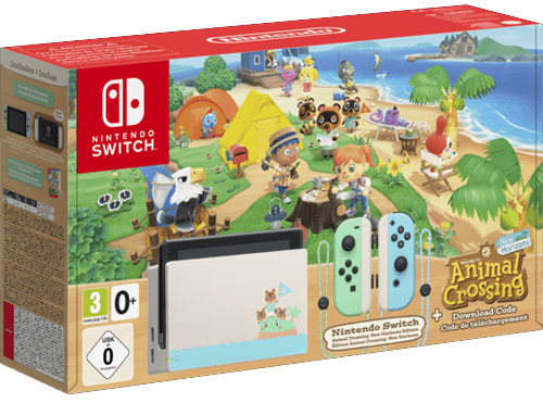 Switch   Konsole Animal Crossing N.H. Game als DLC  Limitiert  AUSVERKAUFT!