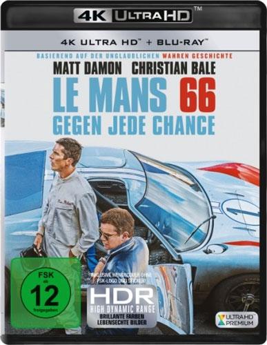 Le Mans 66 (UHD+BR) Gegen jede Chance Min: 159/DD5.1/WS   2Disc
