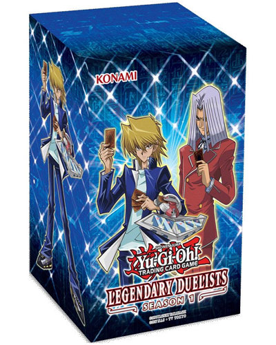Yu Gi Oh!Booster-D-Legend. Duelist S1 8e Display 8 Pack  deutsch Legendary Duelists: Season 1