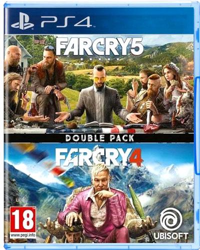 Far Cry  Doublepack  PS-4  AT Far Cry 4 + Far Cry 5