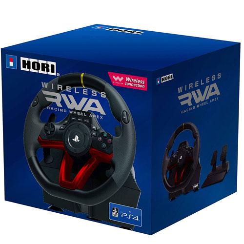 PS4 Lenkrad Racing Wheel Apex  wireless HORI