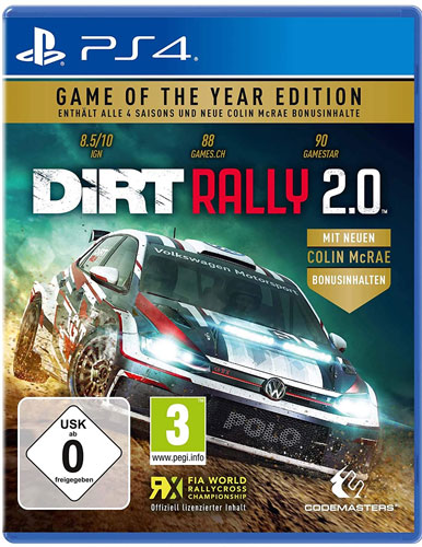 DiRT Rally 2.0  PS-4  GOTY