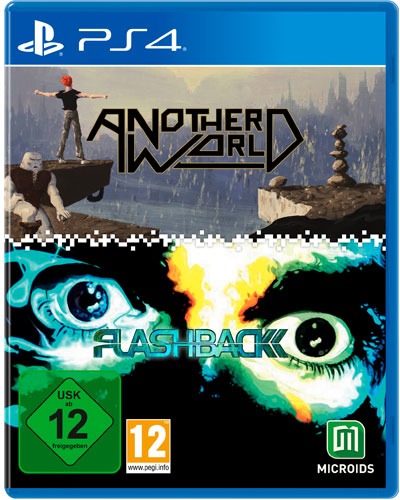 Another World  PS-4  Flashback Bundle Limited Edition