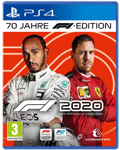 F1  2020  PS-4  70 Jahre F1 Edition AT