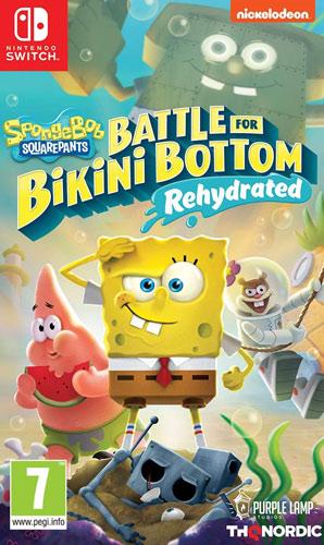 SpongeBob BFBB  Rehydrated  Switch AT Battle for Bikini Bottom
