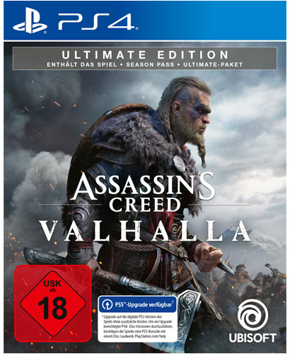 AC  Valhalla  PS-4  Ultimate Edition Assassins Creed Valhalla
