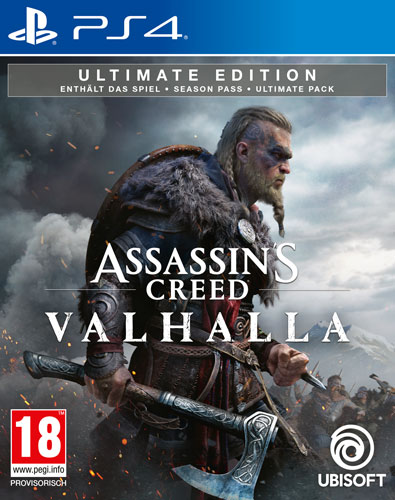 AC  Valhalla  PS-4  Ultimate Edition  AT Assassins Creed Valhalla