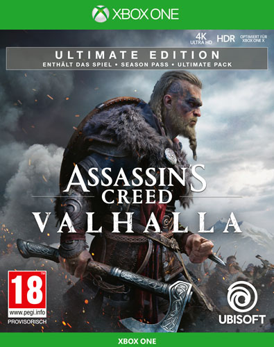 AC  Valhalla  XB-One  Ultimate Edition A Assassins Creed Valhalla