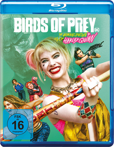 Birds of Prey (BR) The Emancipation of Harley Quinn, Min: 114/DD5.1/WS
