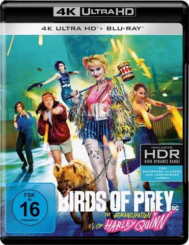 Birds of Prey (UHD) The Emancipation of Harley Quinn, Min: 110/DD5.1/WS  4K