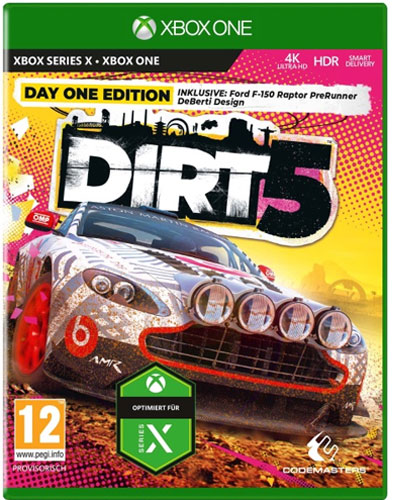 DiRT 5  XB-One  D1  AT