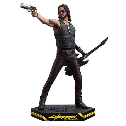 MERC Cyberpunk 2077 Figur J. Silverhand Statue