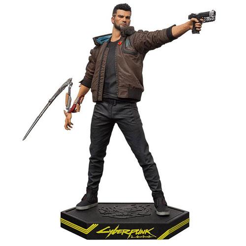 MERC Cyberpunk 2077 Figur Male V Statue