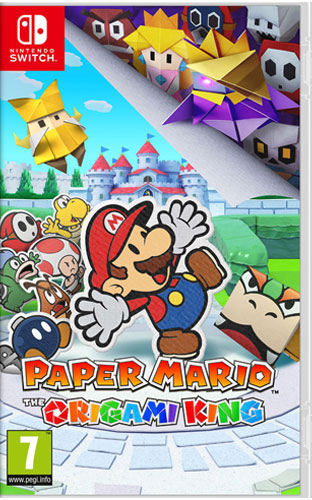 Paper Mario Origami King  Switch  PEGI