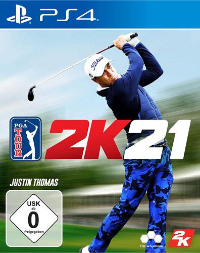 PGA Tour 2K21  PS-4 Justin Thomas