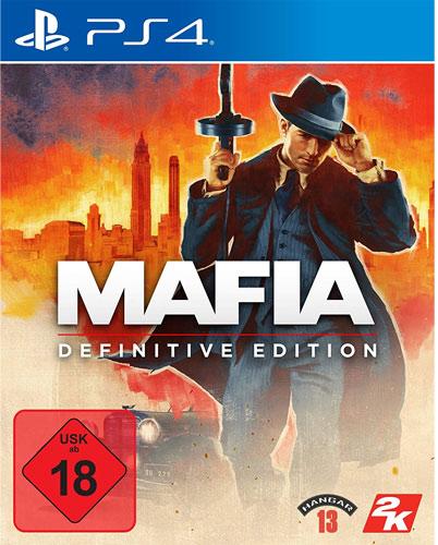 Mafia Definitive Edition  PS-4