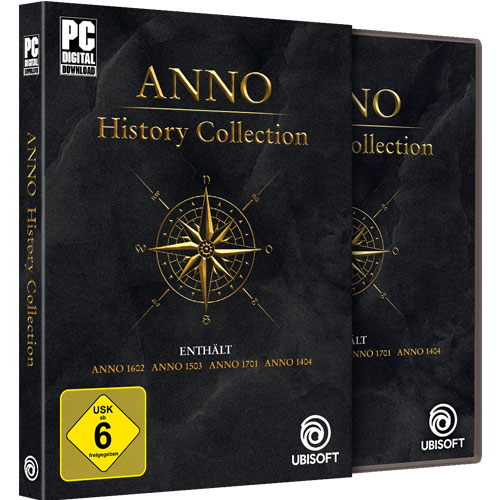 Anno  History Collection  PC 1602 + 1503 + 1701 + 1404