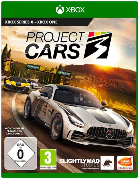 Project Cars 3  XB-ONE