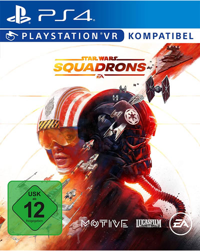SW Squadrons  PS-4 Star Wars   VR kompatibel