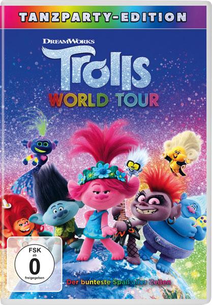 Trolls World Tour (DVD) Min: 90/DD5.1/WS