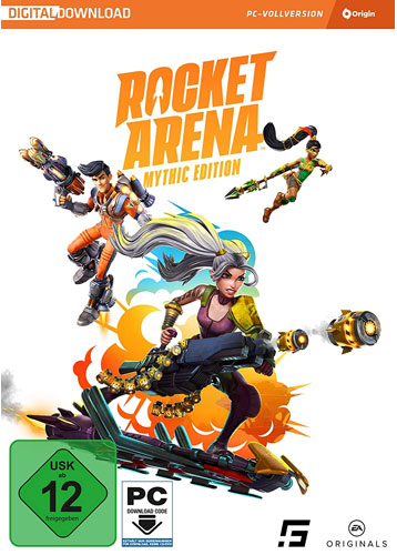 Rocket Arena  PC  Mythic Edition Code in a Box