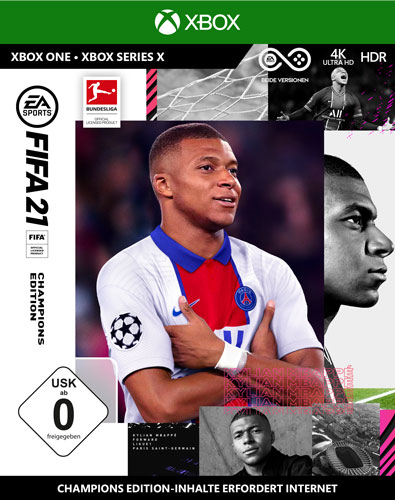 Fifa 21  XB-One  Champions Edition