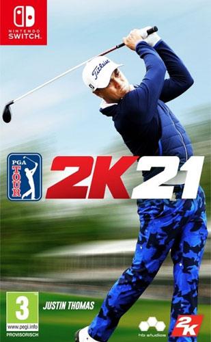 PGA Tour 2K21  Switch  AT Justin Thomas