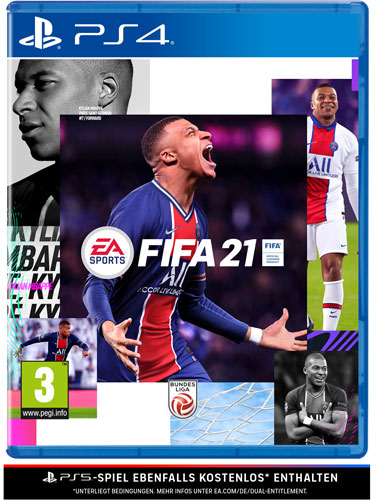 Fifa 21  PS-4  AT PS5 kompatibel