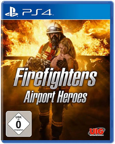 Firefighters Airport Heroes  PS-4