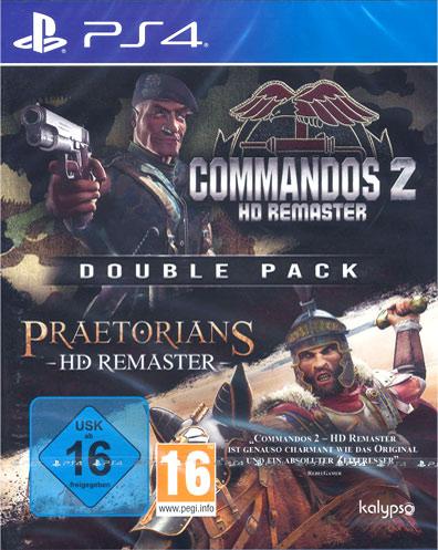 Commandos 2 + Praetorians  PS-4   2in1 HD Remastered