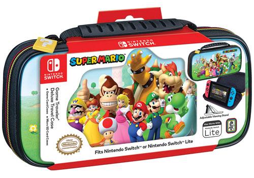 Switch Travel Case NNS53A  Super Mario offiziell lizenziert