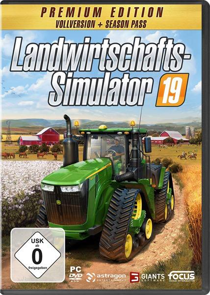 Landwirtschafts-Sim.  19  PC  PREMIUM