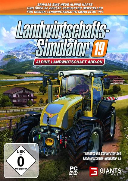 Landwirtschafts-Sim.  19  PC  Alpine Offizielles Add-On Alpine Landwirtschaft