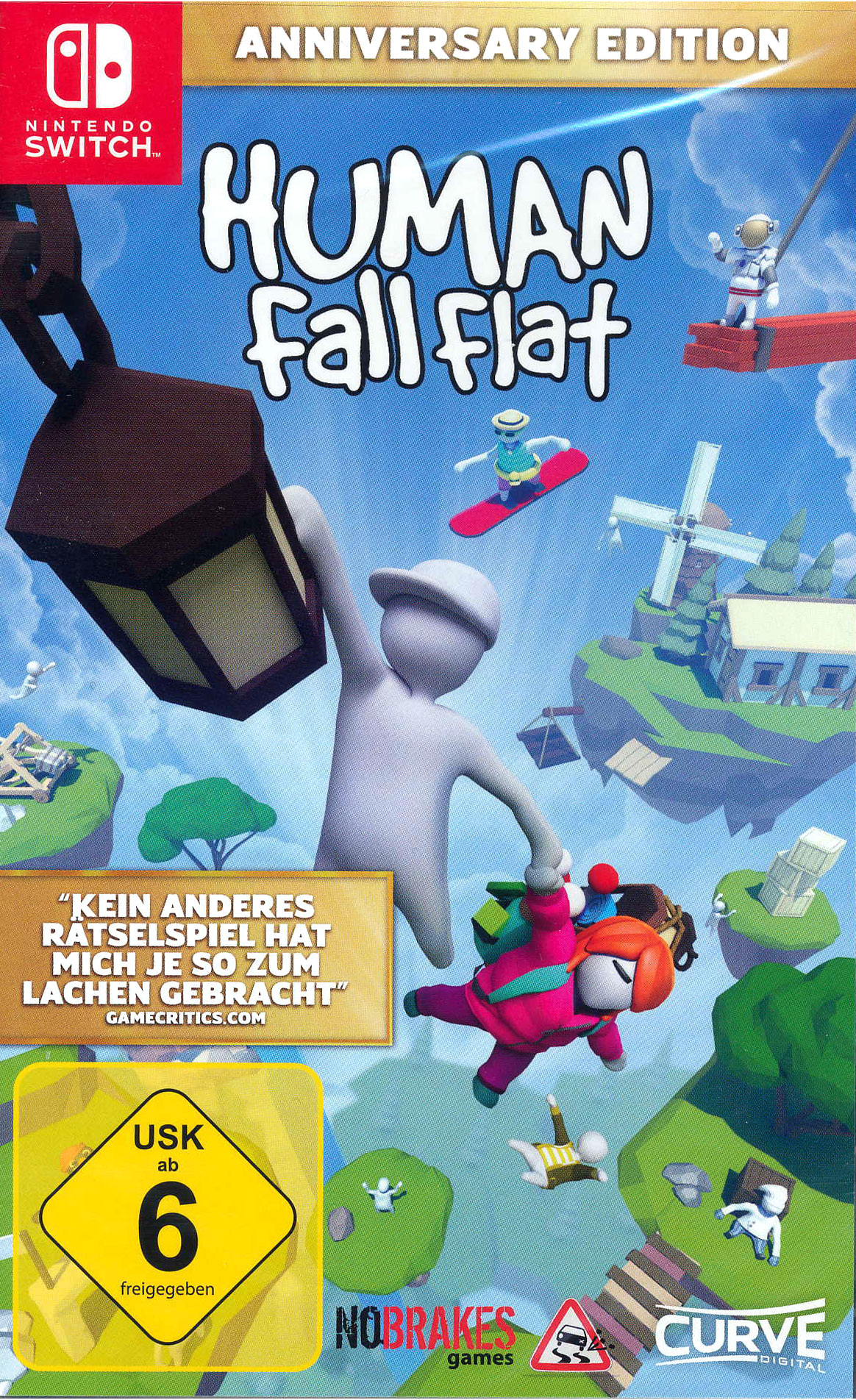 Human: Fall Flat  SWITCH  Anniv. Ed.