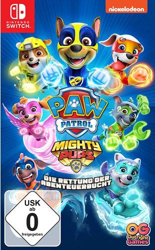 PAW Patrol  Mighty Pups  SWITCH Die Rettung der Abenteuerbucht