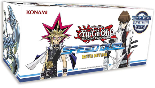 Yu Gi Oh!Booster-D-Speed Duel Box Set