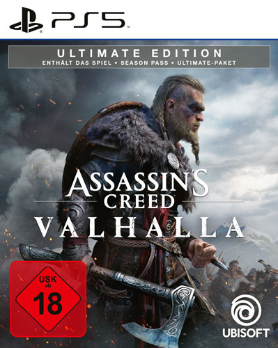 AC  Valhalla  PS-5  Ultimate Edition Assassins Creed Valhalla