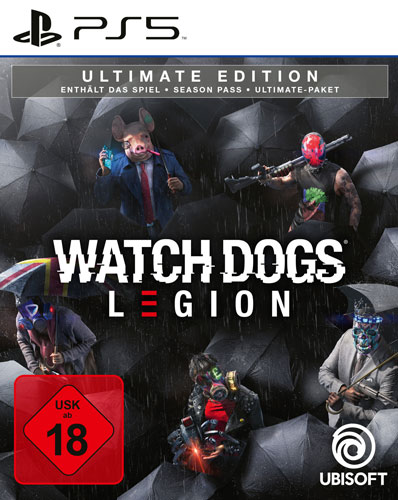 Watch Dogs Legion  PS-5  Ultimate